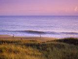 Promeneurs sur la plage, Caroline du Nord Photographie par Manrico Mirabelli