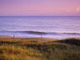 People Along Outer Banks, North Carolina Photographic Print by Manrico Mirabelli