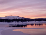 Sunset, Boca Reservoir, Truckee, CA Photographic Print by Kyle Krause