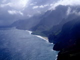Na Pali Coast, Kauai, Hawaii Photographic Print by Michele Burgess