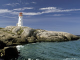 Peggy's Cove Lighthouse, Nova Scotia, Canada Photographic Print by Dennis Macdonald