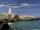Peggy's Cove Lighthouse, Nova Scotia, Canada Photographic Print by Dennis Macdonald