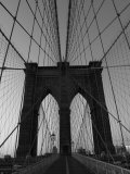 Bridge, New York City Stampa fotografica di Keith Levit