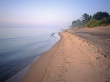 Lake Michigan Shore, Milwaukee, WI Photographic Print by Susan Ruggles
