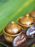 Herbal Oil Used for Oriental Massage Photographic Print by Angelo Cavalli