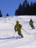Firemen Telemark Skiing, CO Photographic Print by Tom Stillo