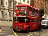 Double Decker Bus, London, England Photographic Print by Keith Levit