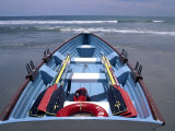 Rescue Boat, Atlantic City, NJ Photographic Print by Barry Winiker
