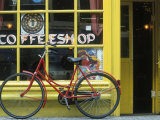 Coffee Shop, Amsterdam, Netherlands Stampa fotografica di Peter Adams