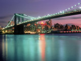 Brooklyn Bridge, Brooklyn Heights, NYC Photographic Print by Rudi Von Briel