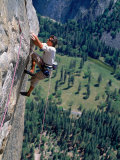 Rock Climbing, Yosemite, CA Photographic Print by Greg Epperson