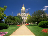 State Capital, Hartford, CT Photographic Print by Rudi Von Briel