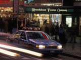 Police Car in Times Square, NYC Photographic Print by Rudi Von Briel