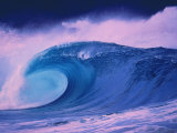 Blue Wave Photographic Print by Bill Romerhaus