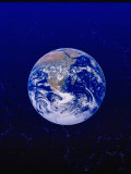 Earth from Space Lmina fotogrfica por Ron Russell