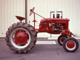 Red Tractor Photographic Print by Jim McGuire