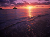 Sunrise in Hawaii Photographic Print by Tomas del Amo