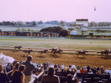Keenland Racetrack, Lexington, KY Photographic Print by Ken Glaser