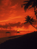 Sunrise, Lanikai Oahu, Hawaii Photographic Print by Cheyenne Rouse