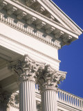 Detail of State Capitol Building, Sacramento, CA Photographic Print by Shmuel Thaler