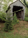 Brannon, Wessner Covered Bridge, OH Photographic Print by Robert Finken