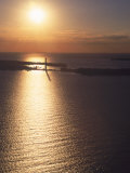 Sunset on Put-In-Bay, Ohio Photographic Print by Jeff Friedman