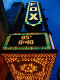 Fox Theater Entrance and Marquee, Atlanta, GA Photographie par Jeff Greenberg