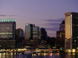 Inner Harbor at Dusk, Baltimore, Maryland Photographic Print by Jim Schwabel