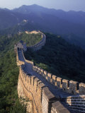 The Great Wall, Beijing, China Fotoprint van Hal Gage