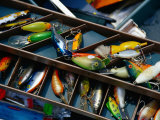 Fishing Lures, Aruba Photographic Print by Jennifer Broadus