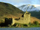 Kilchurn Castle, Argyll, Scotland Photographic Print by Iain Sarjeant