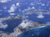 Bermuda, Aerial View Photographic Print by Francie Manning