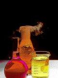 Laboratory Glassware Designs Photographic Print by David M. Dennis