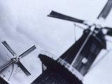 Windmills, Rijks Museum, Amsterdam, Netherlands Photographic Print by Walter Bibikow