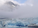 Cruise Ship, Reid Glacier, Glacier Bay, AK Photographic Print by Yvette Cardozo