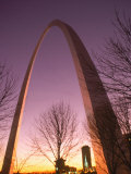 Gateway Arch and Skyline of St. Louis, Missouri Photographic Print by Russell Dohrmann