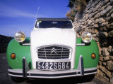 Citroen Car, Provence, France Photographic Print by David Scott