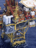 Offshore Oil Rig in the Gulf of Mexico, Photographic Print