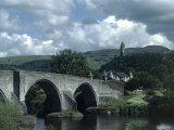 Bruce Clarke - Stirling Bridge and Braveheart Monument Fotografická reprodukce
