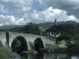 Stirling Bridge and Braveheart Monument Photographic Print by Bruce Clarke