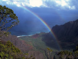 Kokee State Park, Kalalau Valley, HI Photographic Print