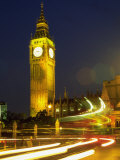 Big Ben at Night, London, UK Photographic Print by Bruce Clarke