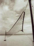 Volleyball Net on the Beach, Cancun, Mexico Photographic Print by D. Robert Franz