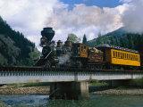 Durango-Silverton Line, CO Fotografie-Druck von Sherwood Hoffman