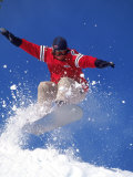 Snowboarding, Squaw Valley, CA Lmina fotogrfica por Kyle Krause
