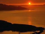 Sunset at San Francisco Bay, CA Photographic Print by Gene Cohn