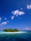 Uninhabited Tropical Island, Ari Atoll, Maldives Photographic Print by Stuart Westmorland