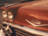Close-up of a Chevrolet Car Photographic Print by Silvestre Machado