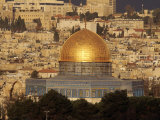 Dome of the Rock, Jerusalem, Israel Fotografiskt tryck av Yvette Cardozo