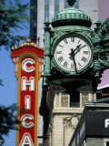 Landmarks on Two State St, Chicago, IL Photographic Print by Bruce Leighty
